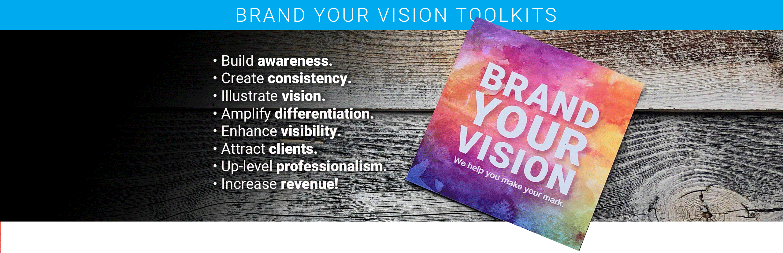 Brand Your Vision Toolkits