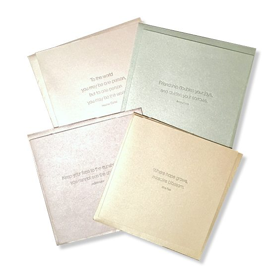 Message in a Bundle: Collection 1 Quotation Cards